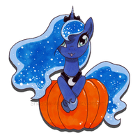 Princess of the Pumpkin by shadow-wolf051