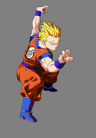 Adult Goten Gt Goku Costme New by jeanpaul007