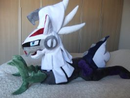 POKEMON-SUN and MOON-PLUSH-SILVALLY by Masha05