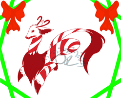 Peppermint Dragon Adopt [CLOSED] by B3AND0G