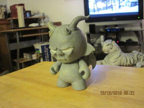 gargoyle mini munny by edstuff