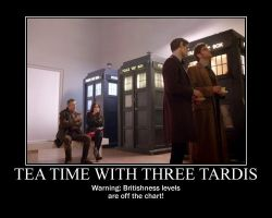 Motivation - Tea time with Three TARDIS by Songue