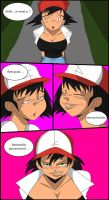 Pokemon Were-Woman Ash TF 4 by TFSubmissions