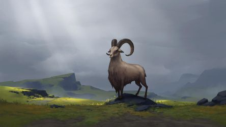 Heidrun, Clan of the Goat - NORTHGARD by Kurunya