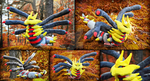 Giratina plush - Origin form I Pokemon by PinkuArt