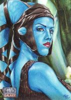 Aayla on Felucia by Dangerous-Beauty778