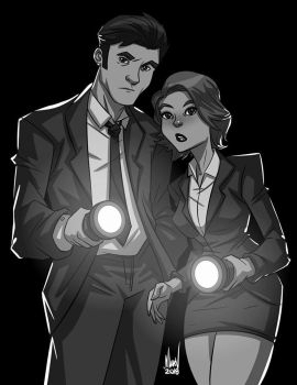 The X-files by Paranoidvin