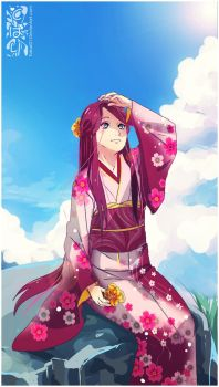 :Kushina: a bright day by AoiTorix