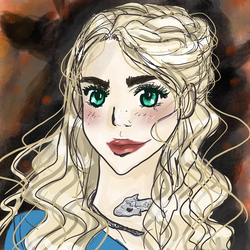 Khaleesi- GOT fan art by tooty-fruity