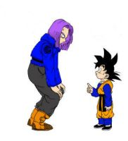 Mirai Trunks and Goten by Chunky-Ball-Z