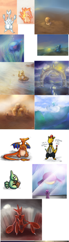 Pokemon Sketch Dump 1 by ToadsDontExist