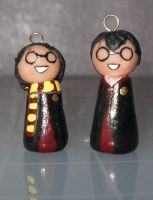 Harry Potter Dolly Charms by PsifiGirl