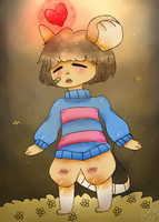 :Transformice: Frisk by NemaLyy