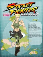 Street Fighter Destiny JAM  ''Amy Guile'' by Dericules