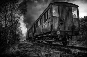 Down on the tracks by Wayman