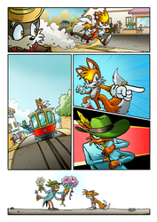 Sonic's World - The Sting Page 4 by MamboCat