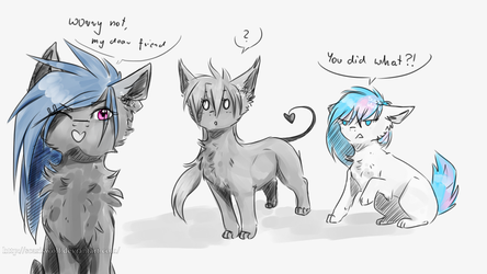 you did what by ScarisWolf