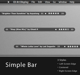 Simple Bar by iPaxy