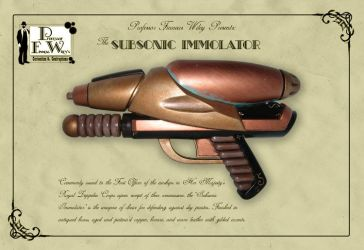 The Subsonic Immolator by davincisghost