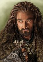 Thorin Oakenshield by x-Celebril-x