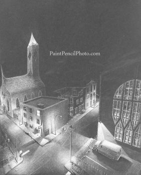 Black City (work in progress) - 19 May 2013 by PaintPencilPhoto