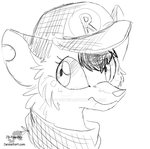 Reineh - Headshot Sketch Commission by JB-Pawstep