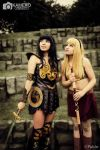 Xena and Gabrielle by sabrina200415