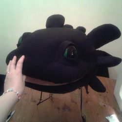 Toothless Quad Cosplay Costume WIP by BigMamaBear
