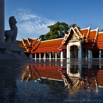 Marble Temple - Thailand by foureyes