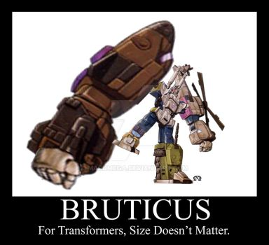 Bruticus Size Doesn't Matter by MarOmega