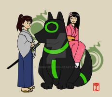Japan Style Ben Julie and Ship by 4eknight11