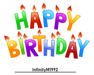 Happy Birthday InfinityM1992 by TheLoudHouse1998