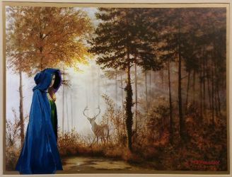 Lady in the Forest by WilltheArtMan