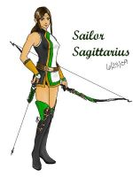 Sailor Sagittarius Revised by Tengoko