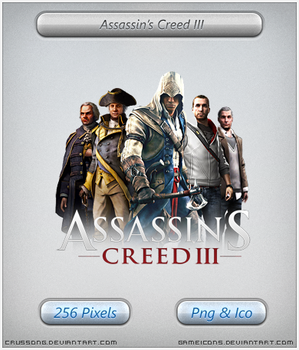 Assassins Creed III - Icon 2 by Crussong