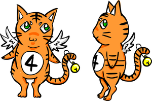 TigerFour mascot by Marisol-Maryline