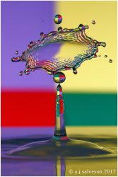 Multi coloured splash by andy-j-s