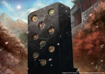 L5R Stone of Remembrance by fandygembuk