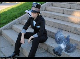 One piece: Rob Lucci by Sisters-Tamagochi