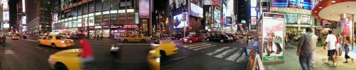NYC - Steppin' Out in Times Sq by freezejeans