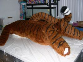 Tiger WIP and Feb. fursuit commissions slot open by Bladespark