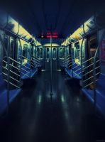 R Subway by Vanessaxgisel