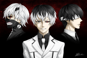 The Many Sides of Kaneki by Ringo101