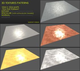 Free 3D textures pack 28 by Yughues