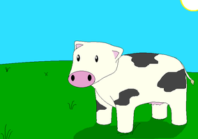 Cow by Ash243x