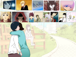 Webtoon Wallpaper by Reinohikari