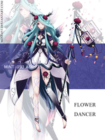 [CLOSED] Auction - Flower Dancer 1 by Syu-mln
