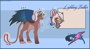 Lightning Feather [Adopt Auction] by RISTERDUS