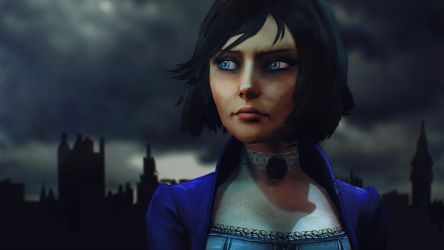 Bioshock Infinite: Elizabeth by DP-films