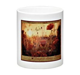 Unique Forever and Always Poppies Mug by sevvysgirl